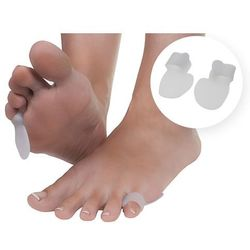 Silikonowe osłonki na małego palca stopy