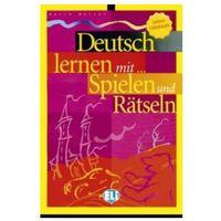 Książki do nauki języka, Deutsch Lernen mit... Spielen und Rätseln Untere Mittelstufe (opr. miękka)