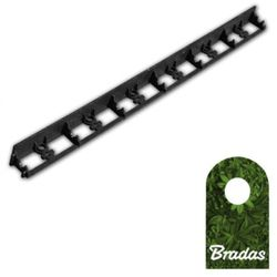Obrzeże ogrodowe 78/1000mm TYP2 RIM-BORD-78 1m BLACK 0575