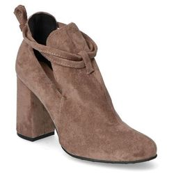 Botki For-But 271 Taupe zamsz