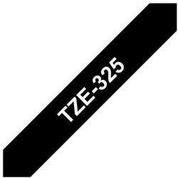 BROTHER Taśmy do drukarek TZ laminowane 9mm x 8m, biały/czarny