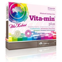 Witaminy i minerały dla kobiet + kwas hialuronowy Vita-min plus 30 kapsułek Olimp labs