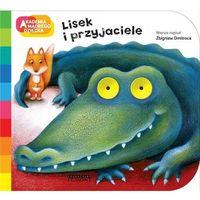 Książki dla dzieci, Lisek i przyjaciele (opr. kartonowa)