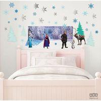 Naklejki na ściany, Naklejka Frozen / Kraina Lodu - Interactive 70-554