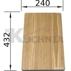 Deska kuchenna do krojenia BLANCO 432x240mm Drewno jesionowe (230436)