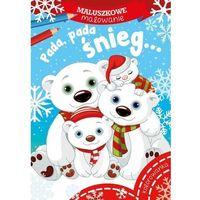 Książki dla dzieci, Pada pada śnieg maluszkowe malowanie (opr. miękka)