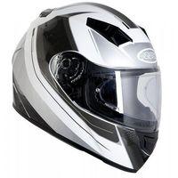 Kaski motocyklowe, KASK OZONE INTEGRALNY RD-01 PINLOCK READY WHITE/GREY/BLACK