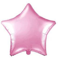 Balon foliowy gwiazdka jasnoróżowa - 48 cm - 1 szt.