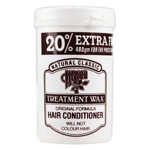 Odżywianie włosów, WAX HENNA TREATMENT Regenerująca maska do zniszczonych włosów