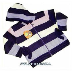 PENGUEN for KIDS Sweter w paski 116(6/7L)