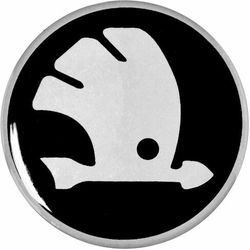 Emblematy 56 mm na felgi do SKODA (zamienniki)