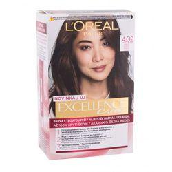 L´Oréal Paris Excellence Creme Triple Protection farba do włosów 48 ml dla kobiet 4,02 Tempting Brunette Brown