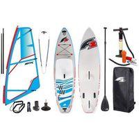 """Deski do windsurfingu, Zestaw Windsurfingowy-Deska Wind Sup F2 Wave 11'5"""" + Pednik STX Power 2019"""