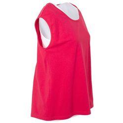 T-shirt z topem 2 w 1, z kolekcji Maite Kelly bonprix czerwień granatu - biały