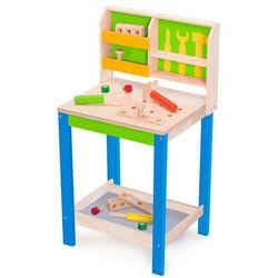 Wonderworld Zabawkowy stół roboczy z narzędziami, zielony, drewniany Darmowa wysyłka i zwroty