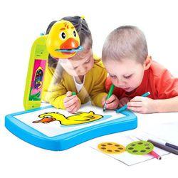 Projektor z tablicą do rysowania 21 obrazków + PISAKI 8196 Zabawki -15% (-13%)