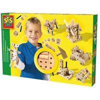 Kreatywne dla dzieci, SES Drewniany zestaw do składania