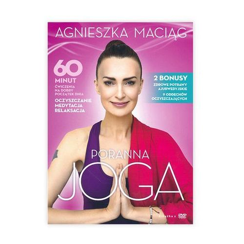 Książki medyczne, Poranna joga-płyta DVD