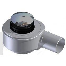 Akces Syfon brodzik.Speed-fi50,72,5mm,45l/min,czyszcz.z góry,mosiężny klik-klak chrom 19239