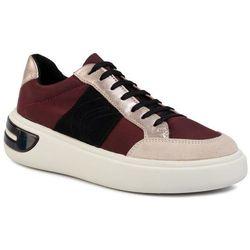 Sneakersy GEOX - D Ottaya F D92BYF 011KY C7JB5 Dk Burgundy/Champagn