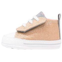 Converse CHUCK TAYLOR FIRST STAR EASY SLIP Obuwie do raczkowania pale gold/sunblush/white