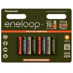 8 x akumulatorki Panasonic Eneloop Tones Expedition R03/AAA 800mAh (blister)