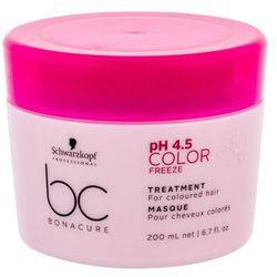 Schwarzkopf BC Bonacure pH 4.5 Color Freeze maska do włosów 200 ml dla kobiet