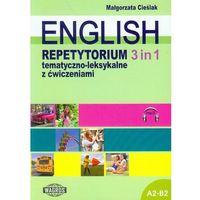Książki do nauki języka, English. Repetytorium tematyczno - leksykalne z ćwiczeniami. 3 in 1 (+MP3) (opr. miękka)