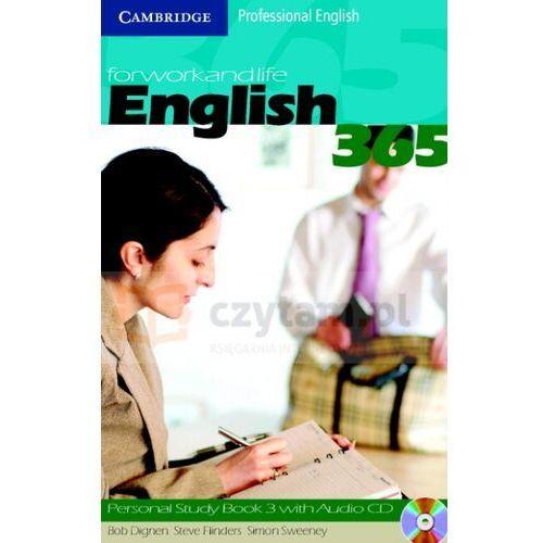 Książki do nauki języka, English 365 3 Personal Study Book + CD (opr. miękka)
