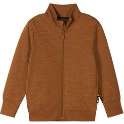 Reima Mahin Bluza Dzieci, brązowy 128 2021 Swetry wełniane