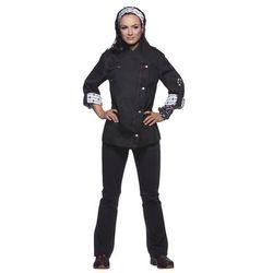 Bluza kucharska damska, rozmiar 36, czarna   KARLOWSKY, Rock Chef