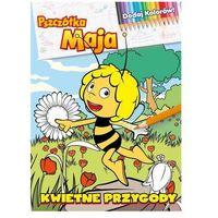 Książki dla dzieci, Pszczółka Maja. Dodaj Kolorów! Kwietne przygody Praca zbiorowa (opr. broszurowa)
