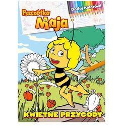 Pszczółka Maja. Dodaj Kolorów! Kwietne przygody Praca zbiorowa (opr. broszurowa)