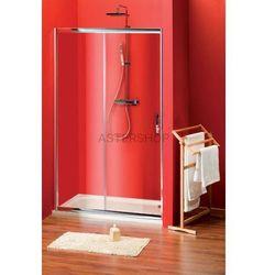 SIGMA drzwi prysznicowe do wnęki 140x190cm szkło czyste SG1244