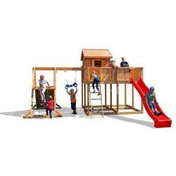 Plac zabaw z drewna świerkowego MySPACE XL SPIDER