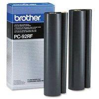 Akcesoria do faksów, Wyprzedaż Oryginał Folia do faksu Brother PC-92RF do Fax-1000P, IntelliFax 900/950/980/1500M, 2*500 stron