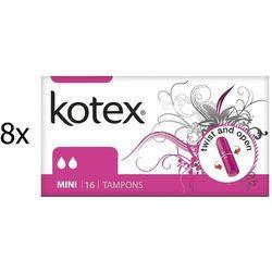 Kotex mini Tampony – 128 szt. - BEZPŁATNY ODBIÓR: WROCŁAW!