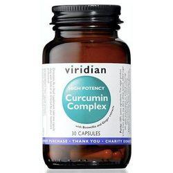 High potency curcumin complex 30 kapsułek Viridian