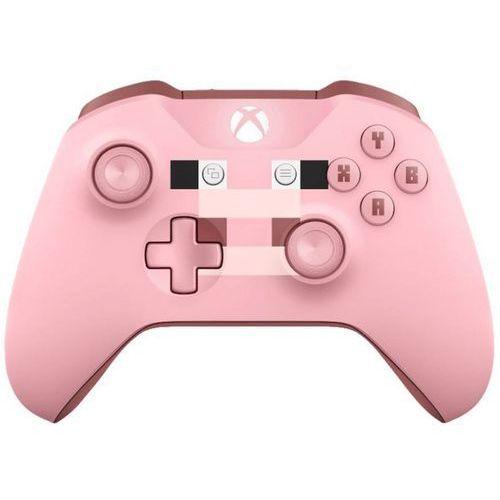 Kierownice do gier, Kontroler MICROSOFT XBOX ONE Minecraft Pig + Kontroler 20% taniej przy zakupie konsoli xbox! + Zamów z DOSTAWĄ JUTRO! + DARMOWY TRANSPORT!