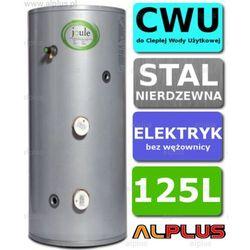 Bojler elektryczny 125L JOULE CYCLONE DIRECT nierdzewka grzałka 2x3kW podgrzewacz CWU bez wężownicy Wysyłka gratis!