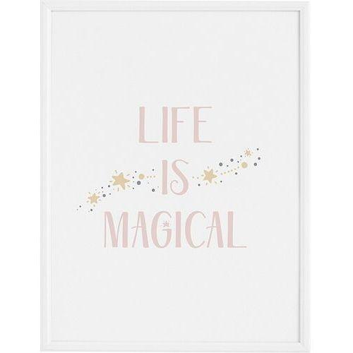 Plakaty, Plakat Life is Magical 30 x 40 cm
