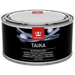 TIKKURILA TAIKA PEARL PAINT- farba pełowa srebrna, 0.225 l