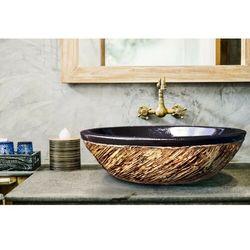 COSTA - nablatowa umywalka artystyczna ręcznie wykończona rabat 10%