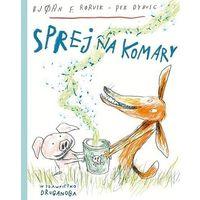 Książki dla dzieci, Sprej na komary (opr. twarda)