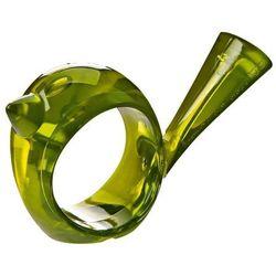 Pierścień ozdobny na serwetki [pi:p] - kolor oliwkowy, KOZIOL