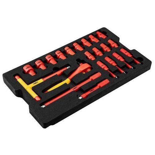 Zestawy narzędzi ręcznych, Skrzynia serwisowa elektryka 52 szt.