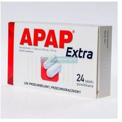 Apap Extra tabl.powl. (0,5g+0,065g) 24 tab