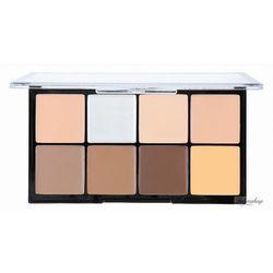 Makeup Revolution Ultra Pro HD Cream Contour Medium Dark Zestaw pudrów kremowych 20g - MAKE UP REVOLUTION