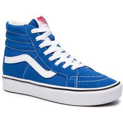 Sneakersy VANS - Comfycush Sk8-H VN0A3WMCVO11 (Suede/Canvas) Lapis Blue