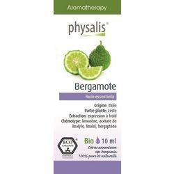 OLEJEK ETERYCZNY BERGAMOTE (BERGAMOTKA) EKO 10 ml - PHYSALIS